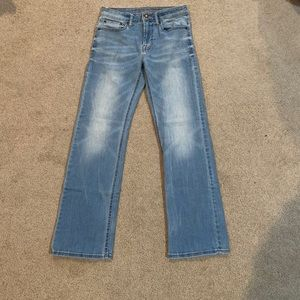 2 for $28 American Eagle Light Wash Jeans
